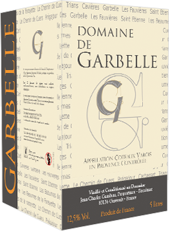 Garbelle AOC Coteaux Varois red wine
